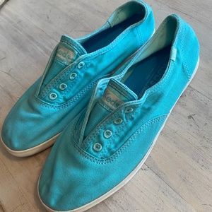 Keds Turquoise Slip on Sneakers